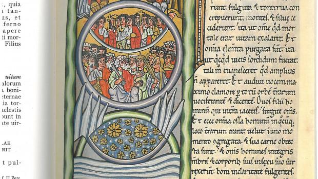Page du Liber Scivias codex d'Hildegarde de Bingen (1511).
