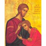Icône du Christ et Saint Jean.