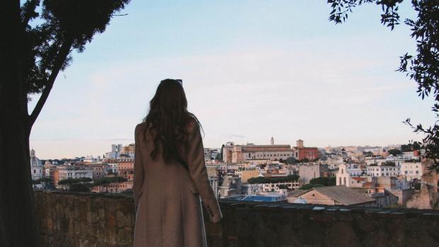 Vue sur la ville de Rome.