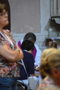 Confession lors du Jubilé des catéchistes à Rome (2016).