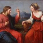 Jésus et la Samaritaine au puits de Jacob, Angelica Kauffmann, Munich, Neue Pinakothek (1769)