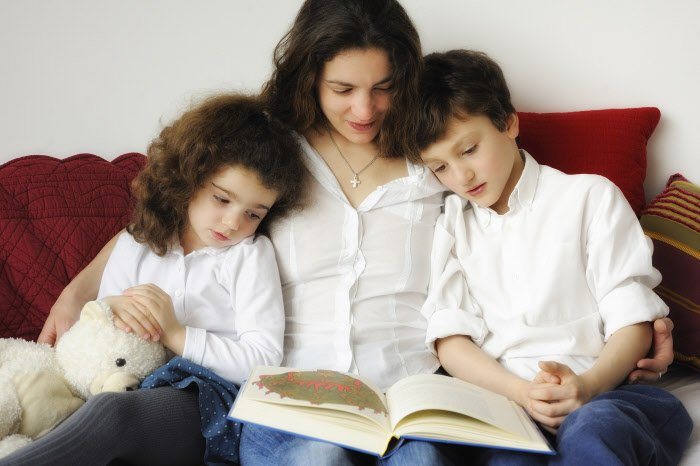 Mère et enfants