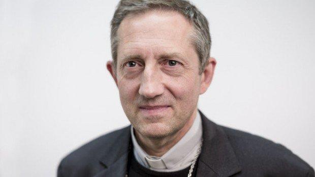 06 novembre 2014 : Mgr Pierre-Yves MICHEL, évêque de Valence.  Lourdes (65), France.  November 6, 2014 : Pierre-Yves MICHEL, bishop of Valence, France.