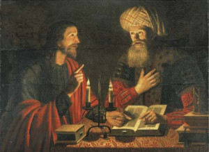 Jésus et Nicodème, Crijn Hendricksz Volmarijn, 1601-1645.