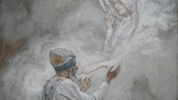 La Vision de Zacharie de James Tissot, Brooklyn Museum