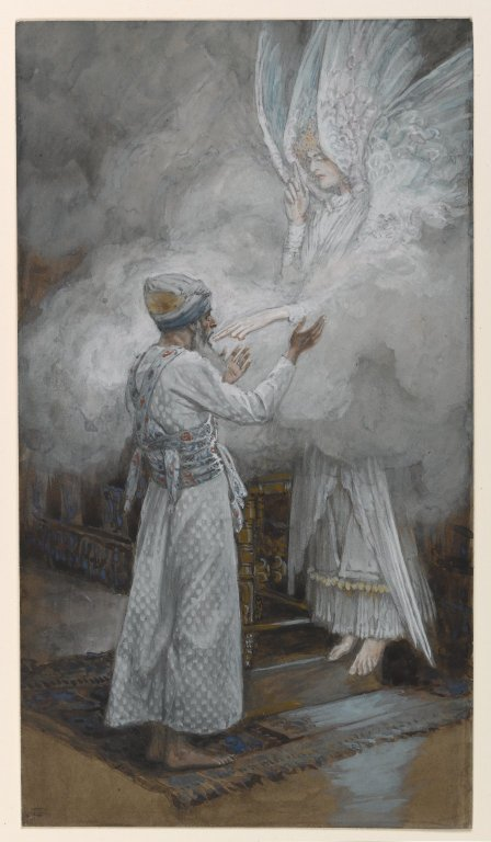 La Vision de Zacharie de James Tissot, Brooklyn Museum