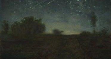 La Nuit étoilée, huile sur toile de Jean-François Millet