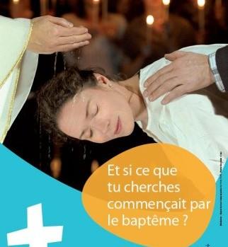 Affiche Devenir chrétien 2011 jpg