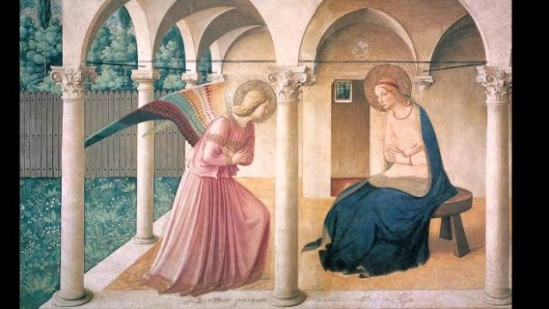 Annonciation fresque Fra Angelico