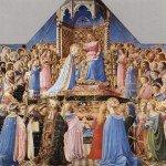 Couronnement de la vierge - Louvres