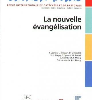 Lumen Vitae 2012 Nouvelle Evangelisation