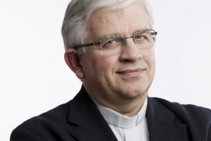 Mgr Olivier Leborgne, évêque d'Amiens, président de la CECC