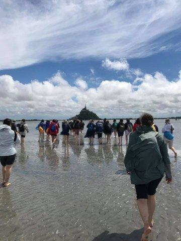 Mont saint Michel Rencontres d'été 2017