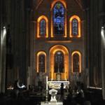 2 Juillet 2011 : 1ère Nuit des Eglises à l'initiative de la revue Narthex, sous l'égide de la Conf. des Ev. de France. Collégiale Notre Dame du Fort. Etampes (91) France.