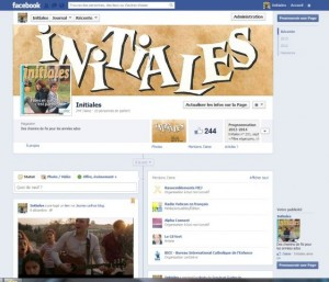 Page FB Initiales