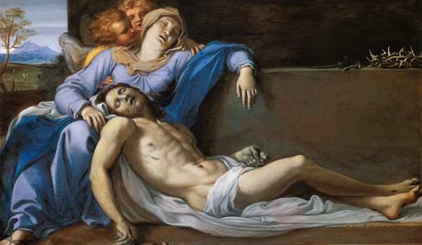 Pieta, Annibale Carracci (1560 - 1609).
