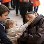 Rendez-vous national des familles, le 30 Octobre 2011 à Lourdes (65), France.