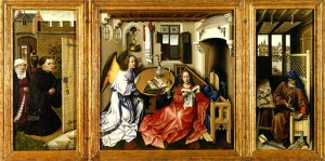 Robert Campin, Tryptique de Mérode (1422)