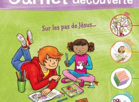 carnet enfant sur les pas de Jesus