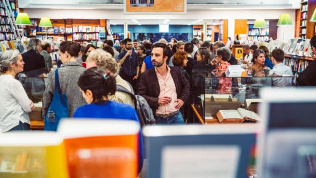 19 septembre 2019 : Soirée évènementielle du centenaire de la librairie La Procure. Paris (75), France.