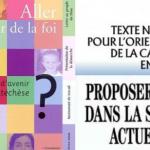 Documents de l'Église de France, éditions Bayard, Cerf, Fleurus-Mame.