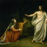 Le Christ apparaît à Marie-Madeleine, huile sur toile d'Alexandre Ivanov (1835), Musée Russe