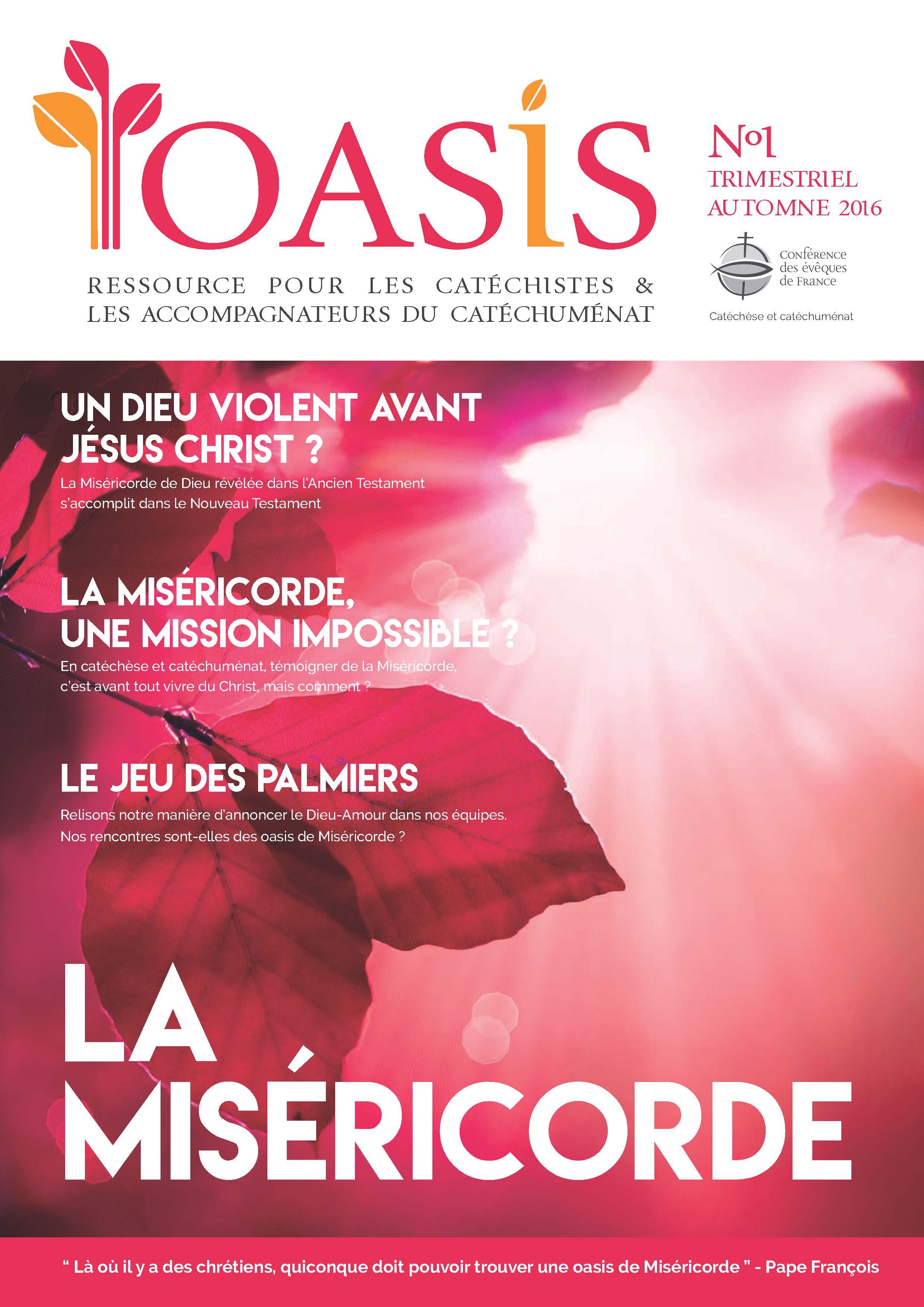 Couverture L'Oasis 1