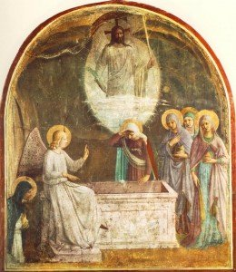 Resurrection_of_Christ_and_Women_at_the_Tomb_by_Fra_Angelico_(San_Marco_cell_8)-commons