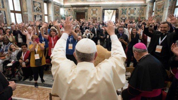 Congrès « Catéchèse et personnes porteuses de handicap » à Rome, 2017.