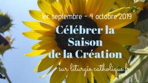 Saison de la Création - Visuel Liturgie