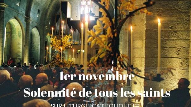 1er novembre, la solennité de tous les saints (2)