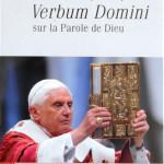 Verbum domini Benoit XVI