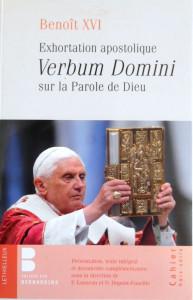 Verbum Domini, exhortation apostolique de Benoît XVI, éd. Parole et Silence, 2011.