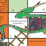 ini 246-e2 Jeu serpents et echelles Image web