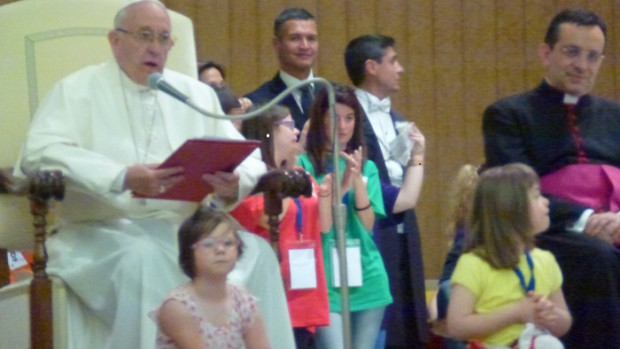 Pape Francois pele handicap