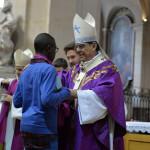 Appel décisif des jeunes catéchumènes du diocèse de Paris, mars 2019.