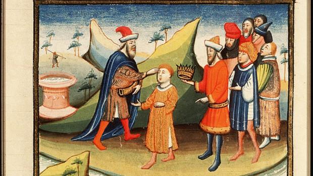 Bible historiée, Utrecht 1430.