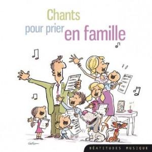 Chants pour prier en famille CD