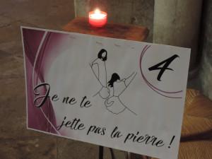Carême 2017 : fête du pardon en la Collégiale Saint Lazare d'Avallon, dans le diocèse de Sens Auxerre.