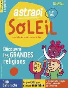 Astrapi soleil, numéro 1, éd. Bayard, septembre 2019.