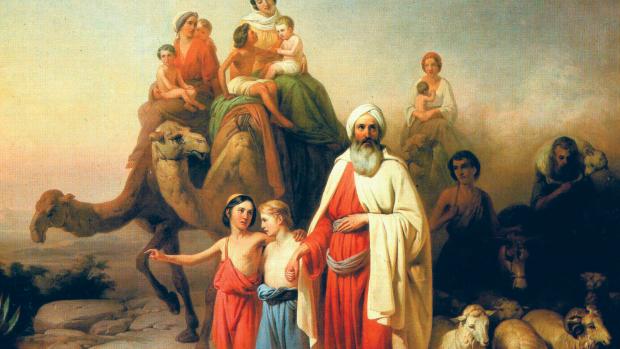 Marche d'Abraham, Jozsef Molnar, 1850.