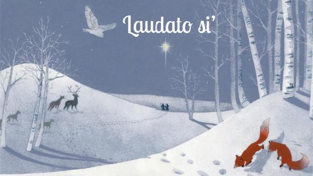 Mon calendrier de l'Avent Laudato Si', illustré par Clémence Meynet.