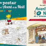 Mon poster géant de l'Avent et de Noël à colorier et Mon cahier d'activités Avent et Noël en s'amusant, 2019, éd. Artège Le Sénevé.