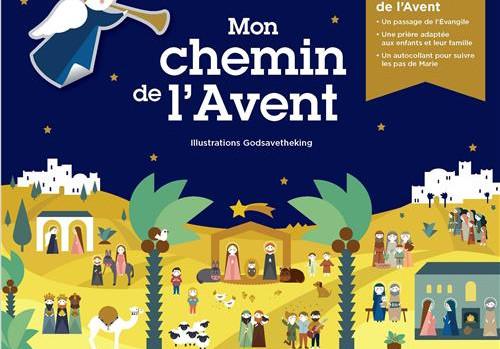 Mon chemin de l'Avent, éd. Crer Bayard, octobre 2019.