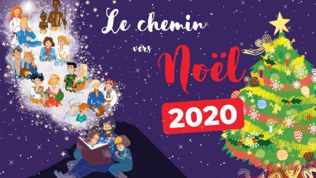 Le chemin vers Noël, 2020.