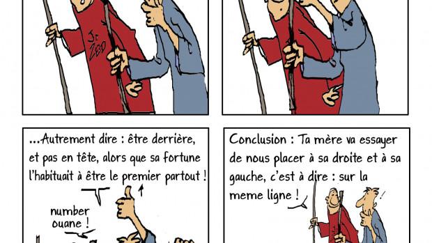 Une planche de bandes-dessinées de Brunor intitulée : « Les zAventures des frères ZBD ».