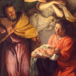 Détail de La Nativité de Noël Coypel