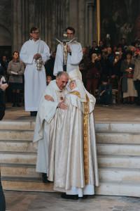 Messe d'installation de Mgr Jean-Paul James comme archevêque de Bordeaux le 26 janvier 2020.