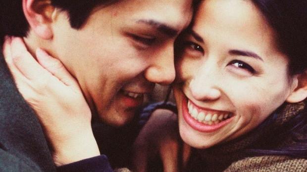 Une jeune couple.