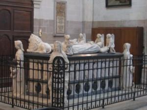 Tombeau de François II et Marguerite de Foix, en la Cathédrale de Nantes.